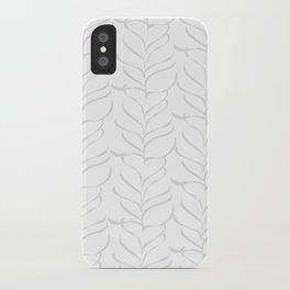 calm breezy ferns iPhone Case