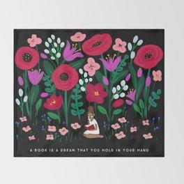 Little Reader Throw Blanket