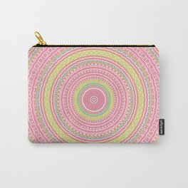 Pink Gypsy Mandala Carry-All Pouch