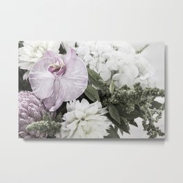 for the love of flowers 2 Metal Print