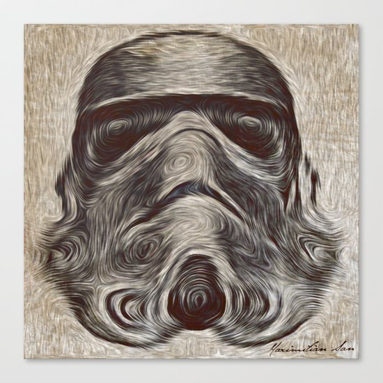 Vincent Stormtrooper Canvas Print