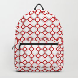 Geometric Pattern - Oriental Star Design 2 Backpack