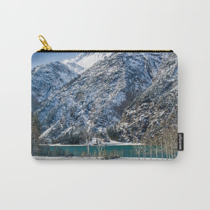 Achensee Winter Landscape Carry-All Pouch