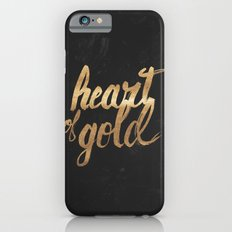 Heart of Gold iPhone 6 Slim Case