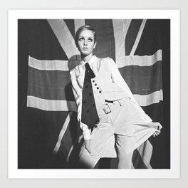 Old British Top Model Art Print