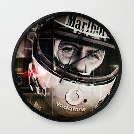 Michael Schumacher Wall Clock