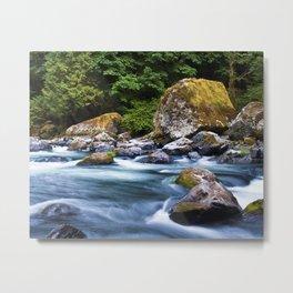 Earth & Water Metal Print