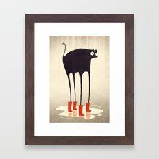 Wellies! Framed Art Print