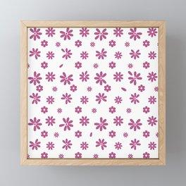 Flowers and Petals 19 Framed Mini Art Print