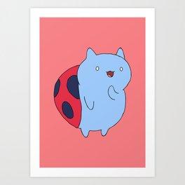Catbug Art Print