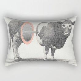 Just Cow Rectangular Pillow