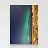 aurora Stationery Cards featuring Aurora by maisie ong