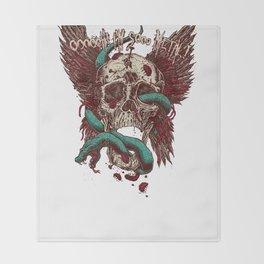 Ooh, I'm so Metal Throw Blanket