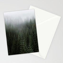 Dizzying Misty Forest Stationery Cards