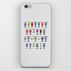 Transformers Alphabet iPhone & iPod Skin