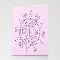 henna Stationery Cards featuring Henna by Melissa Wildt