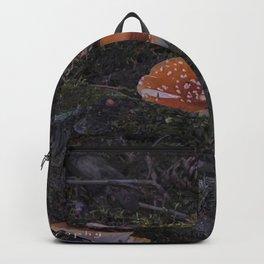 forest mushrooms in sweden Backpack