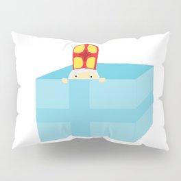 Funny Cute Kids Art St. Nicholas Sinterklaas Pillow Sham