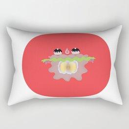 "Deep Ocean Series ""Alga"" Rectangular Pillow"