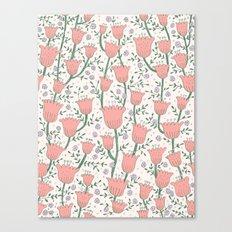 Pastel Flowers Canvas Print