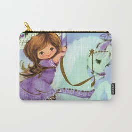 Carousel Cutie Carry-All Pouch