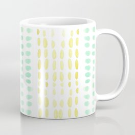 Striped dots and dashes Coffee Mug