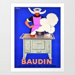 Vintage poster - Baudin Art Print