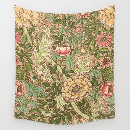Antique Flower Wallpaper (Tapete) Design Wall Tapestry