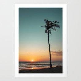 Tropical Winds Art Print