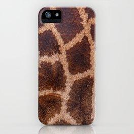 Giraffe Fur iPhone Case