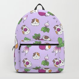 Guinea Pig and Radish Pattern Backpack