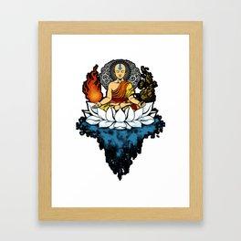 Aang Enlightment Framed Art Print