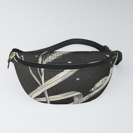 Night Snail Fanny Pack