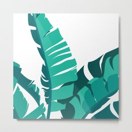 Tropical leafs Metal Print