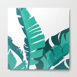 Tropical leafs Metal Print