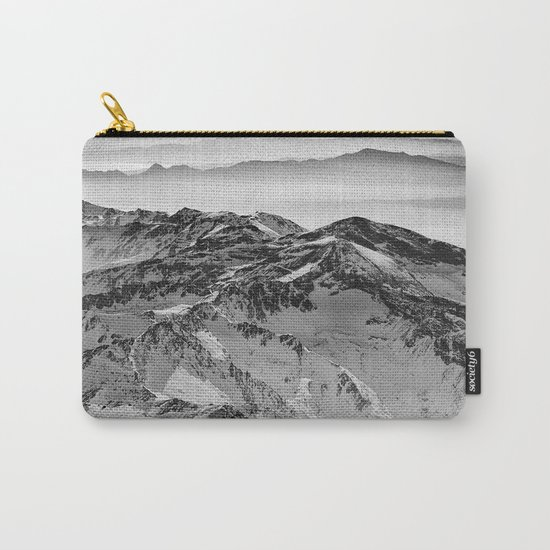 """Flying over wild mountains"" Carry-All Pouch"
