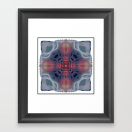 Corridor Cataclysm Framed Art Print