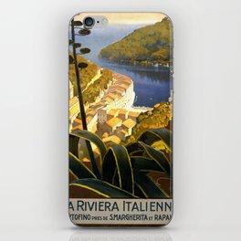 La Riviera italienne, Portofino près de S.Margherita et Rapallo iPhone Skin