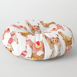 Alpacas Floor Pillow