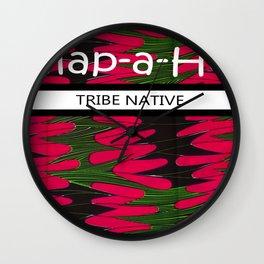 Tribe Native Wall Clock