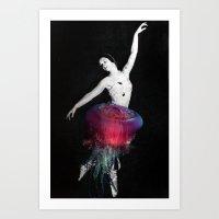 Jellyfish. Art Print