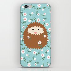 Hedgie in Spring iPhone & iPod Skin
