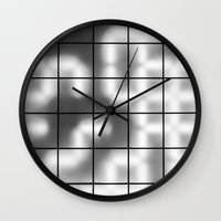numbers Wall Clocks featuring Numbers by Sofia_Katsikadi