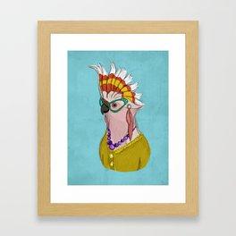 Sophisticated Bird Print Framed Art Print