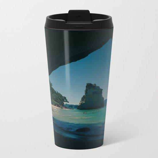 Paradise Island 4 Metal Travel Mug