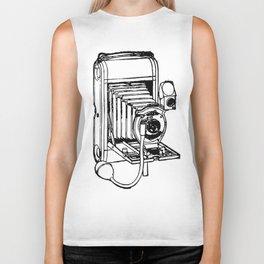Camera. Biker Tank