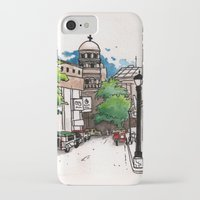 philippines iPhone & iPod Cases featuring Philippines : Santa Cruz Church by Ryan Sumo