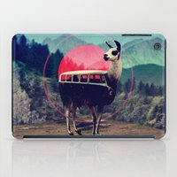 van iPad Cases featuring Llama by Ali GULEC