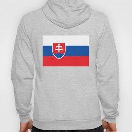 Slovakian Flag - High Quality Image Hoody