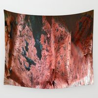 copper Wall Tapestries featuring Copper Sheet by Crayle Vanest